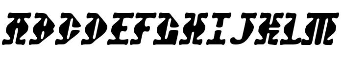 Stupefaction-Regular Font UPPERCASE