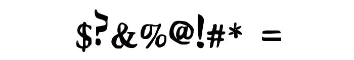 Stupid Medium Font OTHER CHARS
