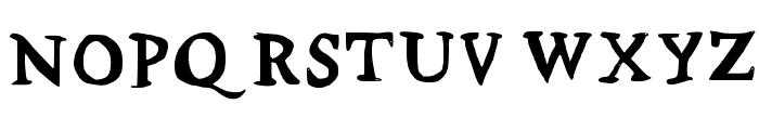 Stupid Medium Font UPPERCASE