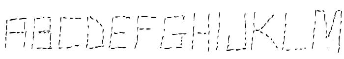 Stutter Font LOWERCASE
