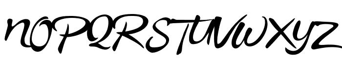 Stya Regular Font UPPERCASE