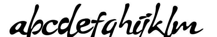 Stya Regular Font LOWERCASE
