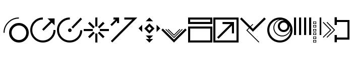 StyleBats Font LOWERCASE