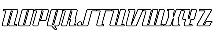 StyleLiner Font UPPERCASE