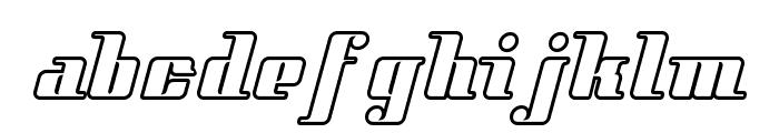 StyleLiner Font LOWERCASE