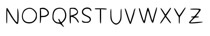 Styles Regular Font UPPERCASE