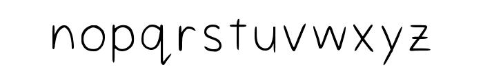 Styles Regular Font LOWERCASE