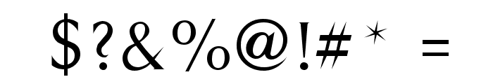 Styletto Regular Font OTHER CHARS