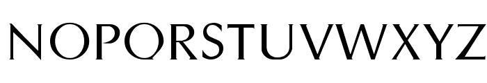 Styletto Regular Font UPPERCASE