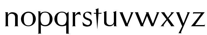 Styletto Regular Font LOWERCASE
