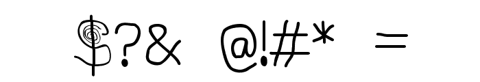 Stylez Font OTHER CHARS