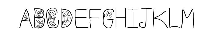 Stylez Font UPPERCASE