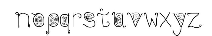 Stylez Font LOWERCASE
