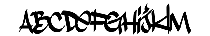 Stylin' BRK Font LOWERCASE