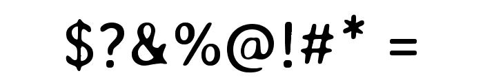 Stylish Regular Font OTHER CHARS