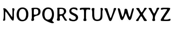 Stylish Regular Font UPPERCASE