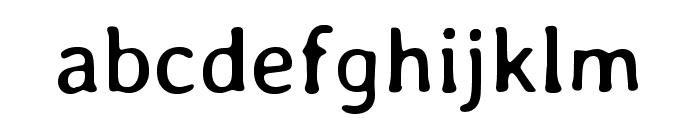 Stylish Regular Font LOWERCASE