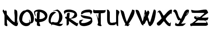 Stylo Bold Font UPPERCASE
