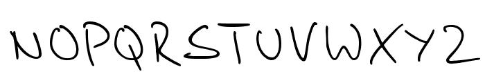 Stylograph Font UPPERCASE