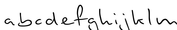 Stylograph Font LOWERCASE