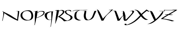 StylosCapitaleAD100 Font LOWERCASE