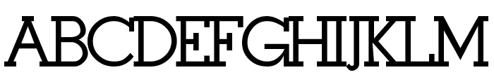 Stymie-Bold Bold Font UPPERCASE