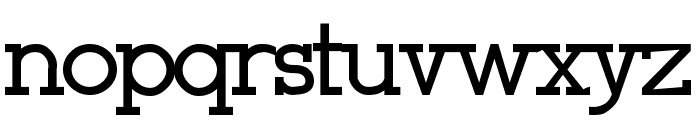 Stymie-Bold Bold Font LOWERCASE