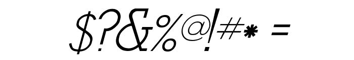 Stymie-Italic Italic Font OTHER CHARS