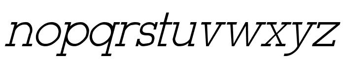 Stymie-Italic Italic Font LOWERCASE