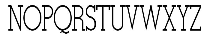 Stymie-Light Regular Font UPPERCASE