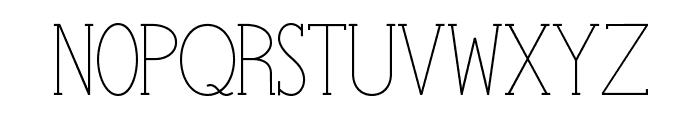 StymieStylus Font UPPERCASE
