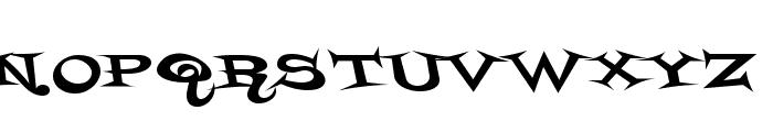 StyrofoamFeelings-Regular Font UPPERCASE