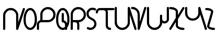 star constellation Font UPPERCASE