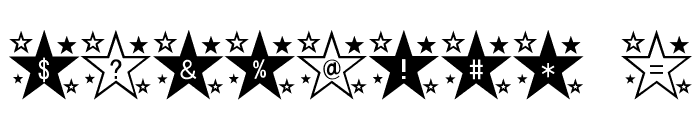 star_font Font OTHER CHARS