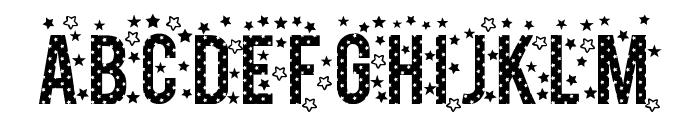 stars TFB Font UPPERCASE