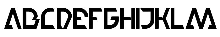 step forward Font UPPERCASE