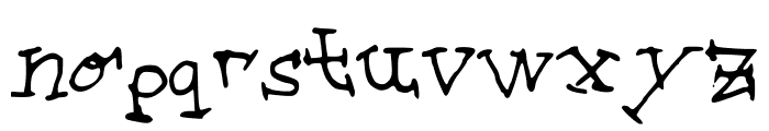 step_on_step Font LOWERCASE