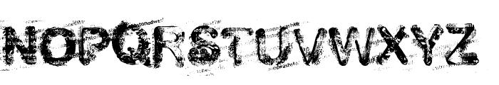 stoned wash 6 Font UPPERCASE