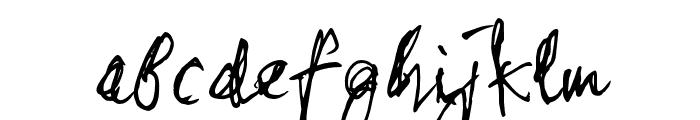 stonehandSaul_TRIAL Font LOWERCASE