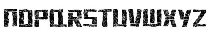 stonehenge Font UPPERCASE