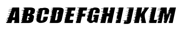 storm ExtraBold Font LOWERCASE