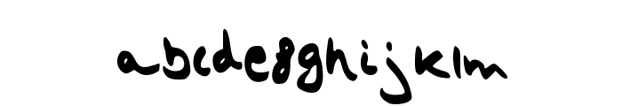 strangeheadache Font LOWERCASE
