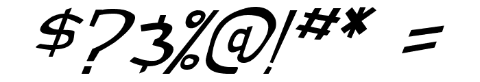 street cred Italic Font OTHER CHARS