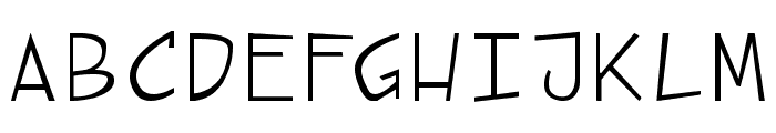 street cred Font UPPERCASE