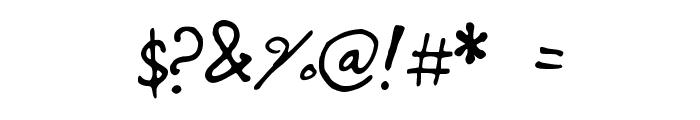stripedsunshine Font OTHER CHARS