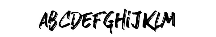 stronger Font LOWERCASE