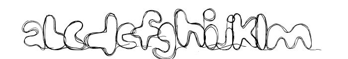 strungout Font LOWERCASE