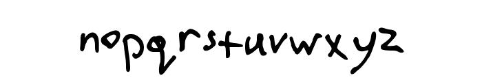 stutzman Font LOWERCASE