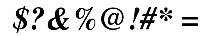 STIXGeneral-BoldItalic Font OTHER CHARS