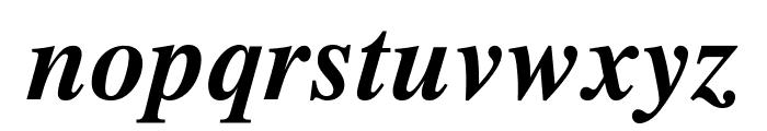 STIXGeneral-BoldItalic Font LOWERCASE